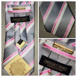 Donald Trump Tie Signature Collection 100% Silk